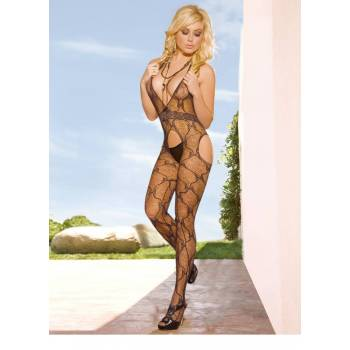 Koronkowe bodystocking 1EH217