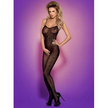 Bodystocking otwarte w kroku F212 black