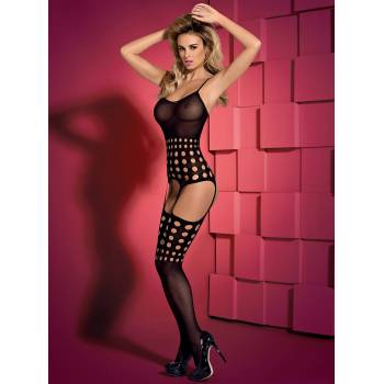 Bodystocking otwarte w kroku G310 black