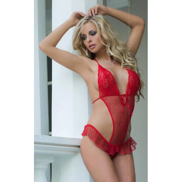 SoftLine Collection Lena red body erotyczne