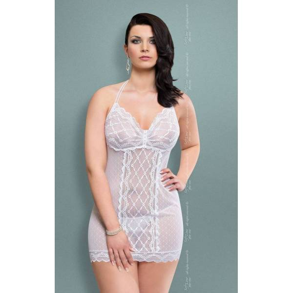 SoftLine Collection xTess Plus Size white komplet