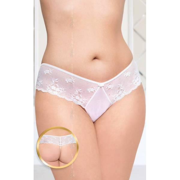 SoftLine Collection G-string 2420 Plus Size white