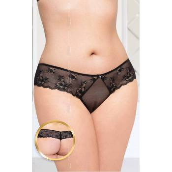 SoftLine Collection G-string 2420 Plus Size black stringi
