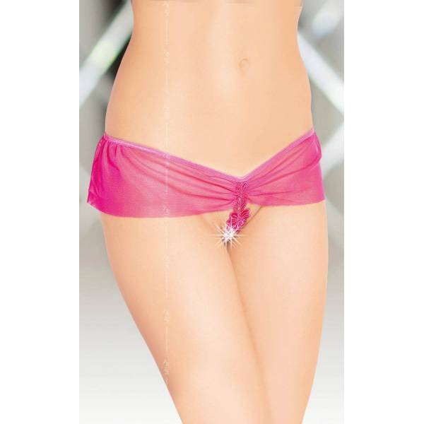 SoftLine Collection G-String 2394 pink stringi
