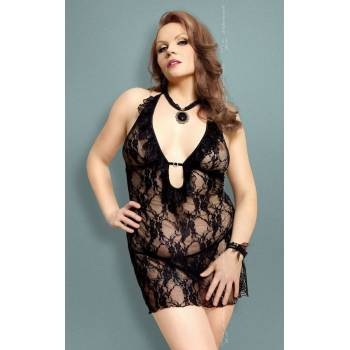 SoftLine Collection Carmen Plus Size black komplet