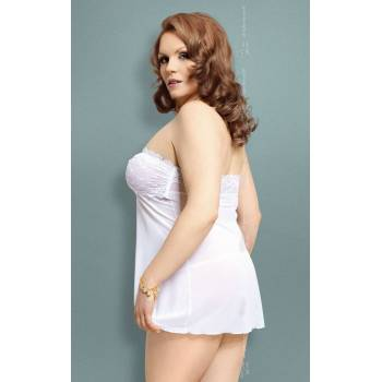 SoftLine Collection Tanya Plus Size white komplet