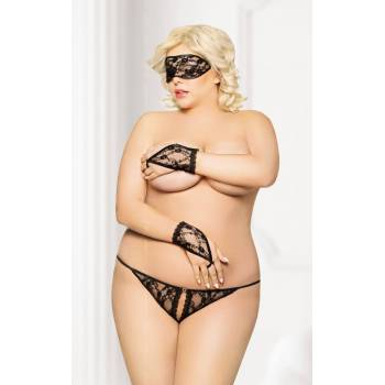 SoftLine Collection Set 2412 Plus Size black komplet