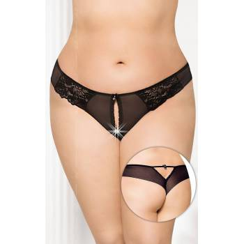 SoftLine Collection G-string 2435 Plus Size black figi