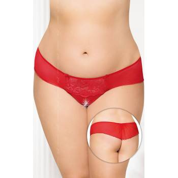 SoftLine Collection G-string 2433 Plus Size red stringi
