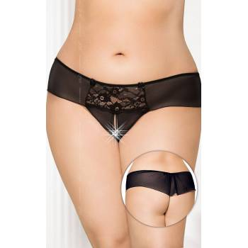SoftLine Collection G-string 2433 Plus Size black stringi