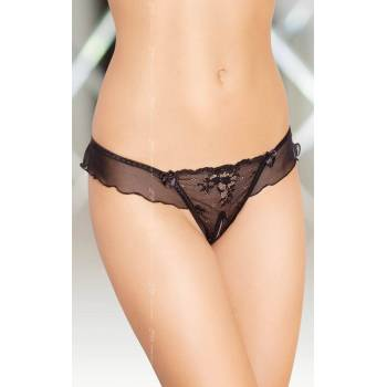 SoftLine Collection G-String 2384 black stringi