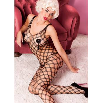 Anais Intenso black bodystocking