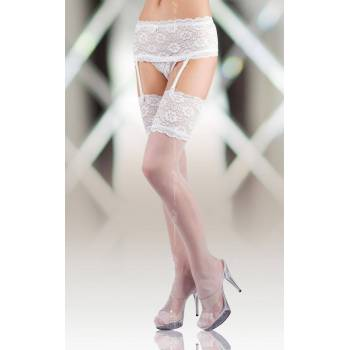 SoftLine Collection Stockings 5512 white pończochy