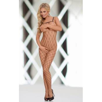 SoftLine Collection Wild Black bodystocking