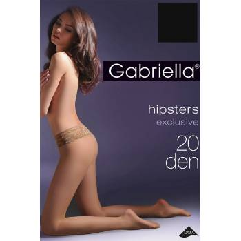 Hipsters exclusive Gabriella rajstopy T-band bezpalcowe 20 den