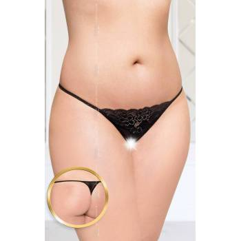 2423 SoftLine Collection G-string Plus Size czarne