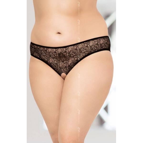 String 2467 Plus Size - Black