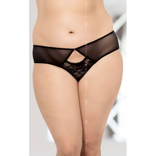 String 2468 Plus Size - Black