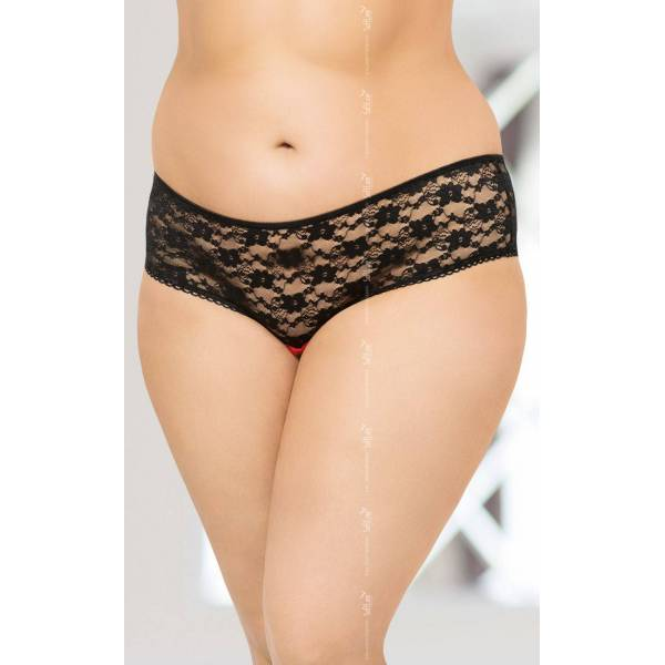String 2470 Plus Size - Black
