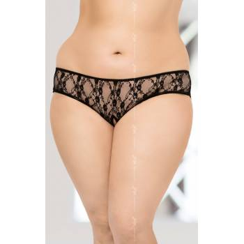 String 2472 Plus Size - Black