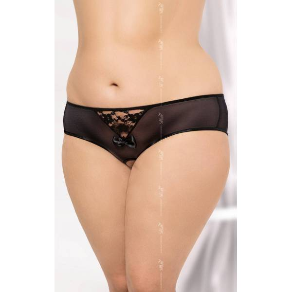 String 2466 Plus Size - Black