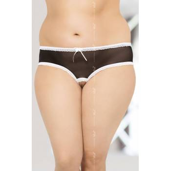 String 2471 Plus Size - Black