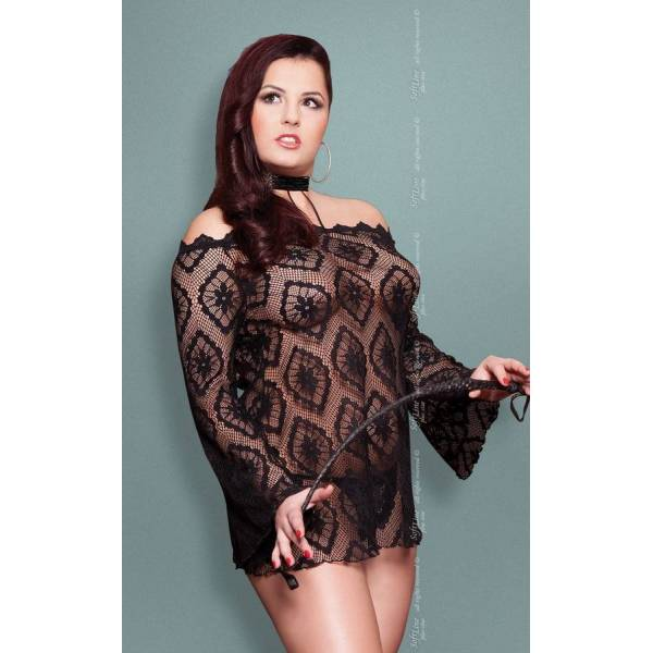 xSora - Plus Size - black 1775 tunika