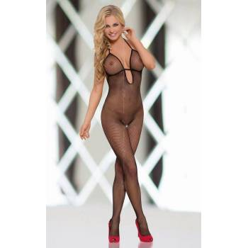 Bodystocking Pussycat - Black 6220